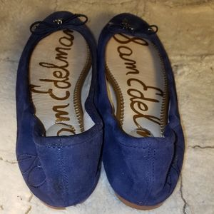 Sam Edelman Shoes - SAM EDELMAN Felicia Navy Blue Leather Sz. 7.5M